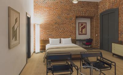 moscou brick design hotel