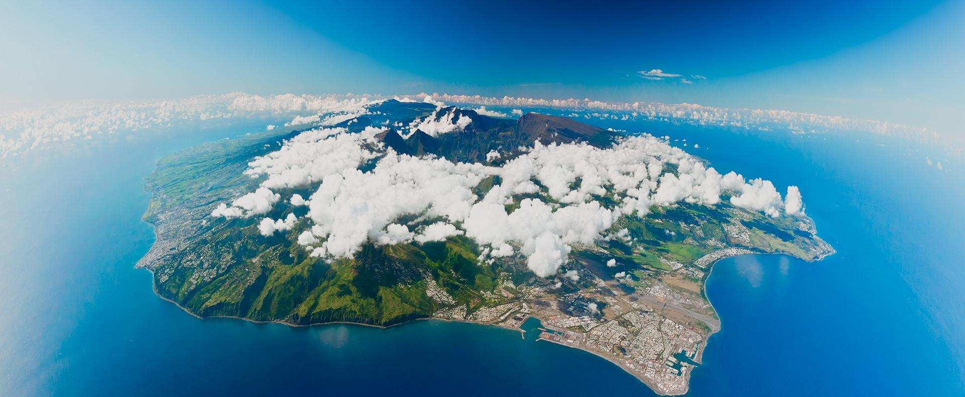 Majestueuse île de la Réunion